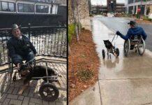 Bandit chien retourné adopté