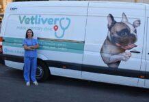 Moallem vétérinaire libanaise conduit clinique mobile
